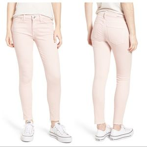 Current/Elliott Stiletto Skinny Jean Primrose Pink